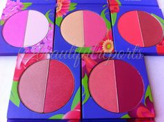 Beautiful Reports: REVIEW + SWATCHES: BH Cosmetics Floral Blush Duos & GIVEAWAY!