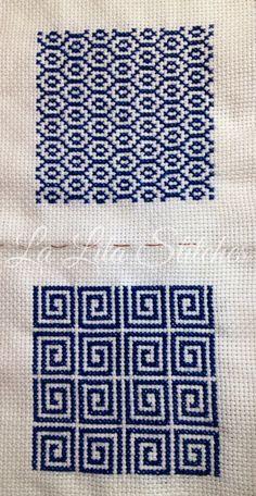 squares Cross Stitch Geometric, Cross Stitch Love, Beaded Cross Stitch, Cross Stitch Borders, Cross Stitch Flowers, Modern Cross Stitch, Cross Stitch Designs, Cross Stitching, Cross Stitch Embroidery