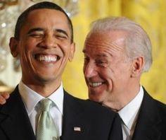 President Barack Obama....Vice President Joe Biden