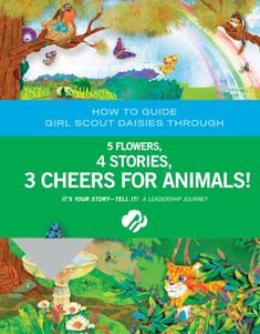 Adult- 5 Flowers. 4 Stories. 3 Cheers for Animals - 2 - 0002