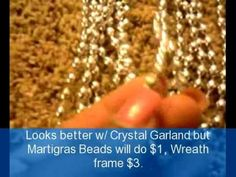 How to make a Beaded Chandelier 5 min