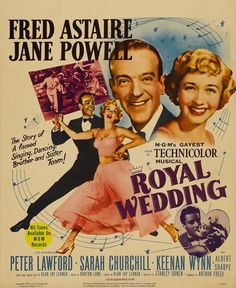 Royal Wedding (1951) - dancing on the ceiling = best dance moment in history. In my top 100.