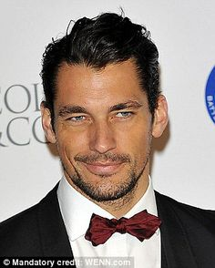 David Gandy-- handsome!!! And tan... thanks to Miami sun ;)