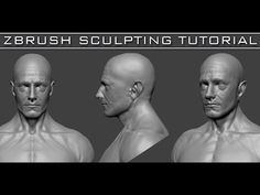 #1 Head Sculpting with Dynamesh in Zbrush Tutorial series for Beginners HD