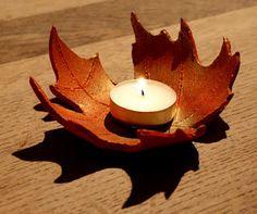 lightly enchanted: Autumn Leaf Bowls