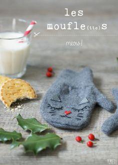 Moufles chat