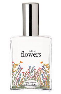 Philosophy field of flowers spray .  Love it.