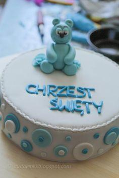 Christiening Cake For Boy :)