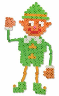 HAMA - PERLER BEADS / PERLES à REPASSER / STRIJKPARELS - CHRISTMAS / KERSTMIS - Christmas Elf Perler Beads - Biggie Fused Bead Kit