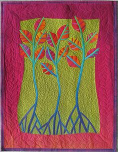 Quilt Inspiration: Dances With Nature: The Quilts of Frieda Anderson