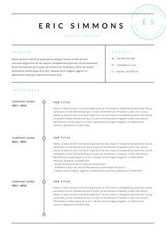 20 Best Best Resume Templates images | Cv template, Resume Design ...
