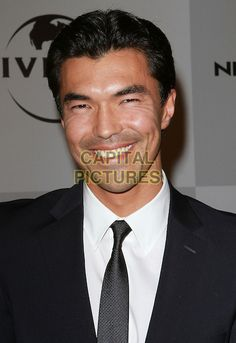 IAN ANTHONY DALE.NBC Universal 68th Annual Golden Globe Awards After Party held at the Beverly Hilton, Beverly Hills, California, USA..January 16th, 2010.headshot portrait white black smiling tie.CAP/ADM/KB.©Kevan Brooks/AdMedia/Capital Pictures.