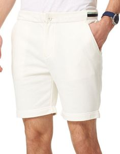 TOMMY HILFIGER TOMMY HILFIGERRedding Solid Shorts. #tommyhilfiger #cloth #