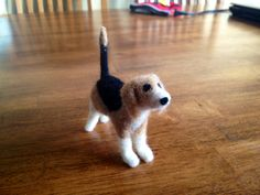 Felted Beagle