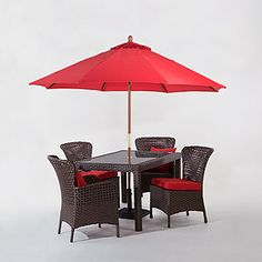 love the chairs, but not entirely sold on the table | world market patio furniture