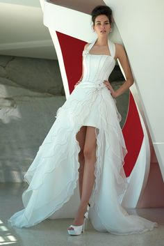 A bridal look from Valentini. [Courtesy Photo]