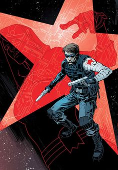 Winter Soldier by Declan Shalvey