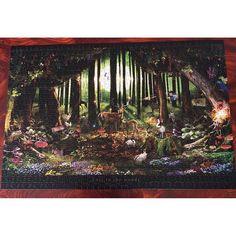 【well_arrow】さんのInstagramをピンしています。 《#楠田諭史 #迷いの森 #エポック社 #1000ピース 楠田聡史さんの作品は どれもとっても素敵です😍 * #satoshikusuda #puzzle #lostintheforest #forest #森 #可愛い #素敵 #癒し #左利き計画 始動》