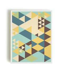 Geometic Poster Abstract Poster Geometric Art by angelaferrara, $12.50