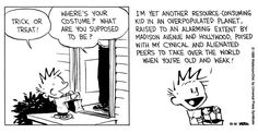 Calvin and Hobbes keeping it real.
