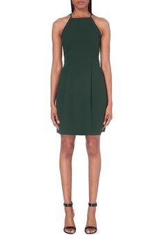 WHISTLES - Portia crepe dress | Selfridges.com