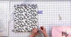 Using Just Four Fat Quarters, You Can Make This Super Handy Drawstring Backpack!