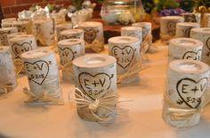 Custom Handmade Birch Wood CandleTea Light by JVCountryCreations More