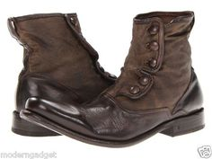 John Varvatos Bowery Button MEN BOOTS