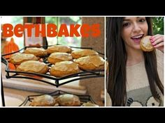 Pumpkin cookies with caramel frosting video!!! can't wait to make these for my boyfriend <3