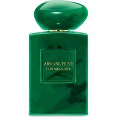 GIORGIO ARMANI Vert Malachite eau de parfum 100ml (£220) ❤ liked on Polyvore featuring beauty products, fragrance, perfume, blossom perfume, giorgio armani fragrance, eau de perfume, eau de parfum perfume i edp perfume