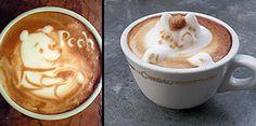 Latte art by Japan-based coffee artist Kazuki Yamamoto