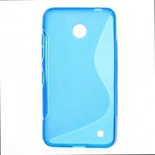 Capa Gel Nokia Lumia 630 - 635 Sline Azul 6,99 €