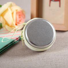 4 Color Round Travel Storage Bag Earphone Cosmetics Jewelry Data Lines Organizer Storage Home Travel Accessories