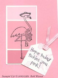 Paint Chip Pink by showmestamper - Cards and Paper Crafts at Splitcoaststampers