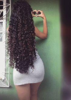 Long Black Hair, Long Curly Hair, Big Hair, Curly Hair Styles, Natural Hair Styles, Beautiful Long Hair, Gorgeous Hair, Trendy Hairstyles, Weave Hairstyles