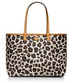 Gorgeous leopard print shopper tote