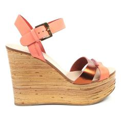 Coral 37 EUR - 7 US Sergio Rossi Womens Sandal