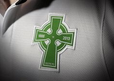 A new Celtic FC is debuting this season, inspired by the fact that the campaign is the club's anniversary. The new look is inspired by the very first uniform Celtic wore, all the Glasgow, Old Firm, Rangers Fc, Celtic Fc, Social Media Engagement, Professional Football, Football Kits, Nike, First Love