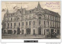 Bucuresti - Palatul societatii de Asigurare Nationala - 1903 Vintage Architecture, Outlines, Time Travel, Dan, Louvre, Europe, Memories, Country, Wallpaper