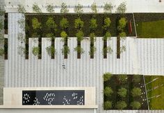 Grange Insurance Headquarters Featured in World Landscape Architecture Landscape Architecture Design, Landscape Plans, Urban Landscape, Architecture Graphics, Paving Pattern, Paving Ideas, Composition Design, Contemporary Landscape, Urban Planning