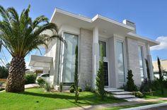 eh!DÉCOR: Fachada de casas modernas com porcelanato