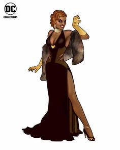 Vixen Joins The DC Bombshells As A Jazz Singer [SDCC 2016]