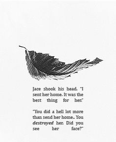City of Glass - reading this scene in the book broke my heart.