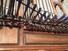 Órgano de Frías ( detalle)