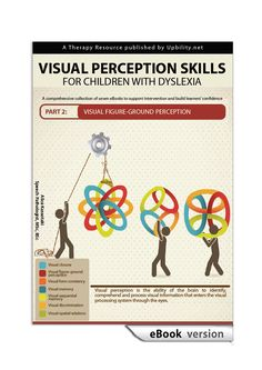 The book Visual Memory is the fourth in a series of seven eBooks that provide intervention material aimed at developing the visual perception skills. Skills To Learn, Life Skills, Figure Ground Perception, Visual Memory, Human Development, Dyslexia, Hands On Activities, Lower Case Letters, Teaching Kids