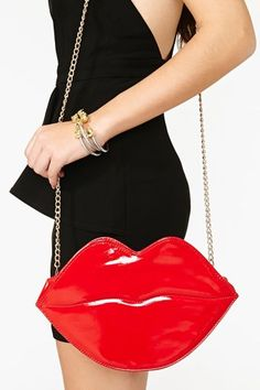 Flaming Lips Bag - Red-$30.00