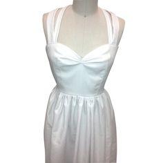 BMD White dress. SO Marilyn Monroe!