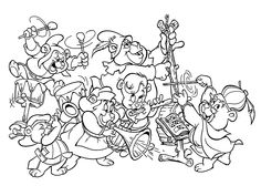 all gummi bears cartoon coloring pages for kids printable free