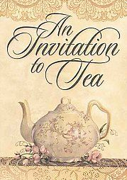 Tea Invitations (Paperback) ~ Sandy Lynam Clough (Author) Cover Art