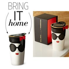 Bring It Home: Alice + Olivia Traveler Mug